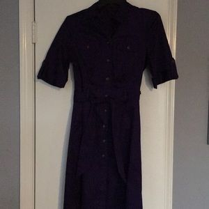 Like new purple shirt dress from The Limited